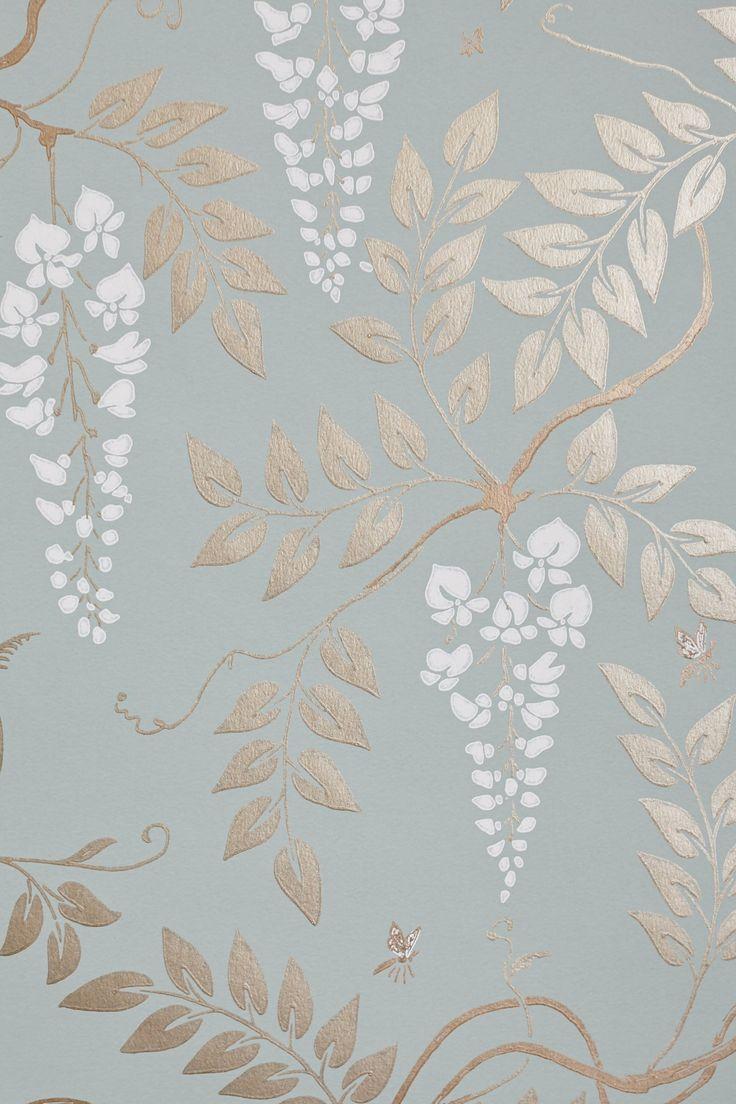 Egerton Wallpaper - Anthropologie.com | Decor | Pinterest