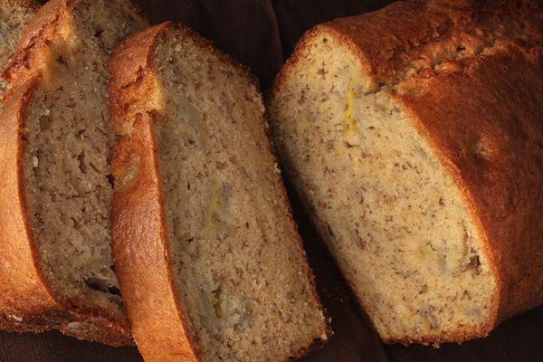 Sour Cream–Banana Bread, skipped the vanilla because I was randomly ...