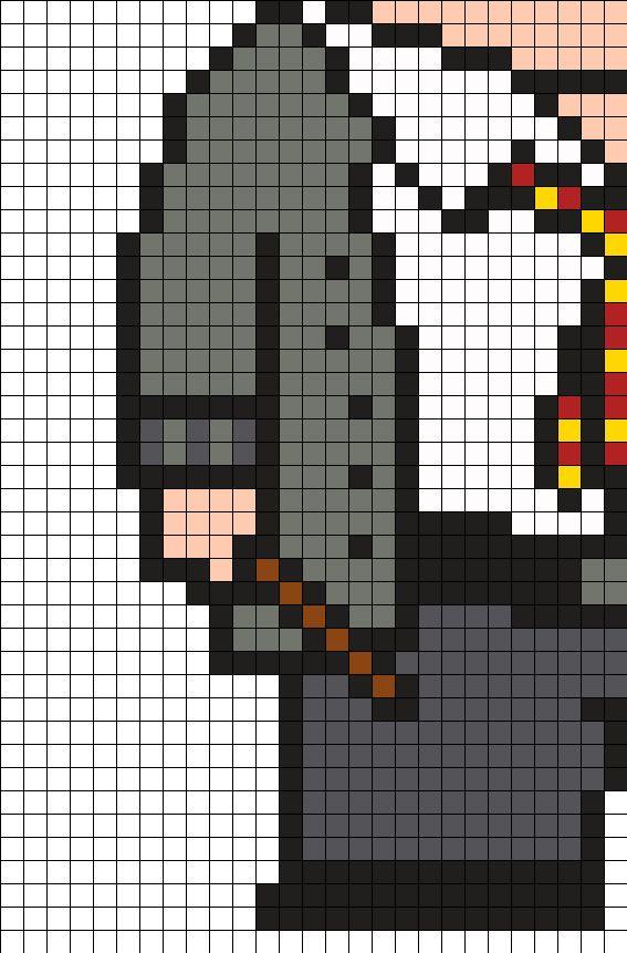 424 Best Peeler Bead Images On Pinterest Hama Beads · Harry Potter  Minecraft Pixel Art ...