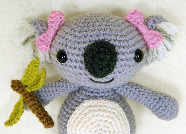 Llavero Koala Amigurumi : Pin by Valentina Lopez Nobrega on Crochet Pinterest