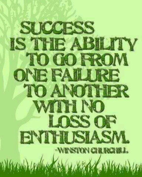 Enthusiasm = success | Quotes | Pinterest