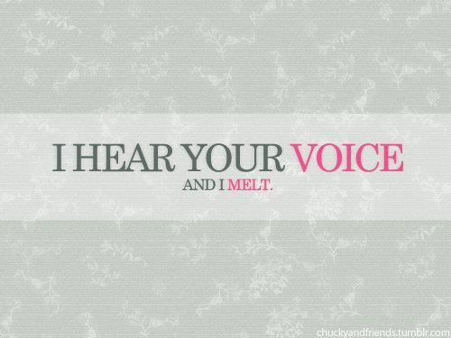 I Love You Voice Quotes : Love Your Voice Quotes. QuotesGram