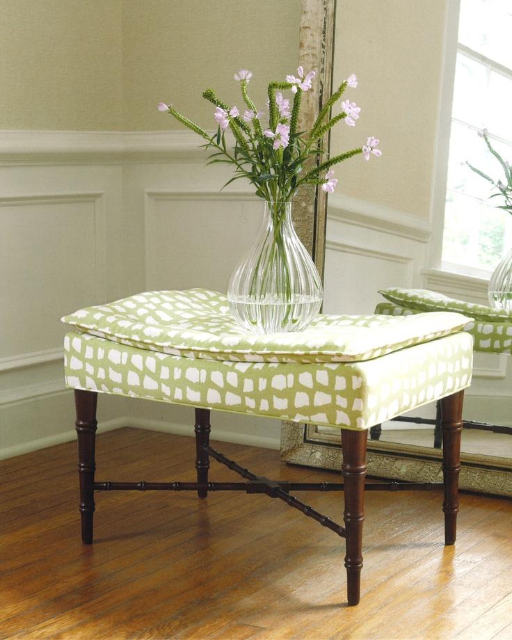 Thibaut Fine Furniture Preston Ottoman