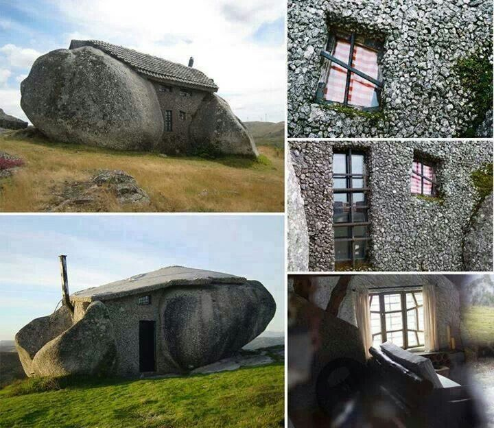 Stone House In Portugal The Curious Pinterest