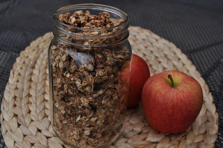 Apple Cinnamon Granola | Recipe