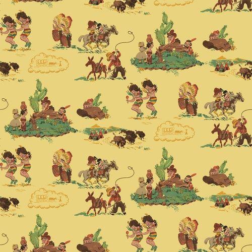 Cowboy wallpaper for kids - photo#4