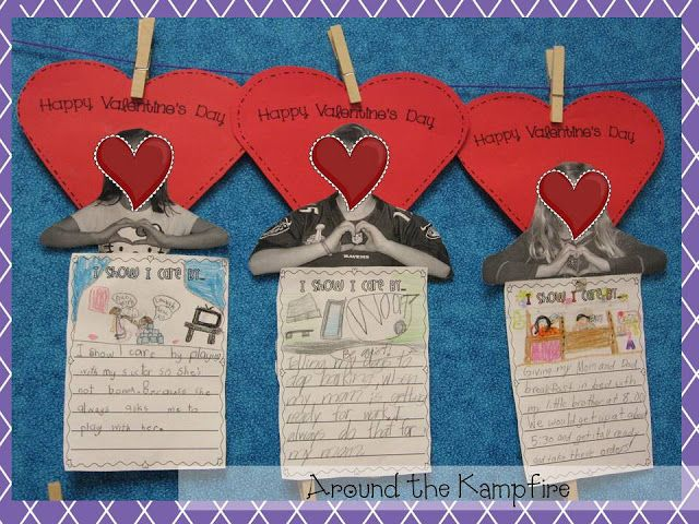 valentine's day writing activities for preschoolers