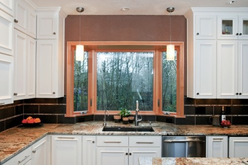 Bay Window Over The Kitchen Sink The Hearth Pinterest