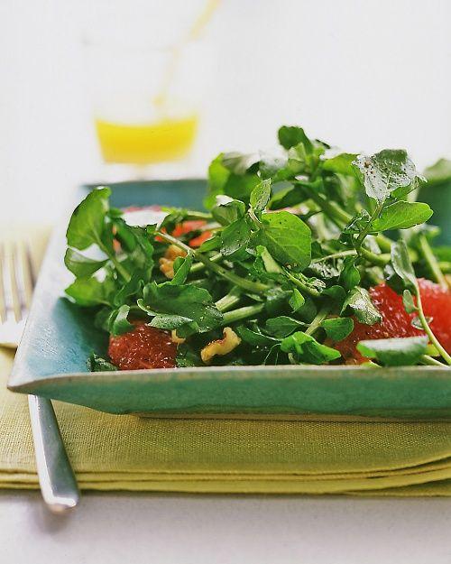 Watercress, Pink Grapefruit, and Walnut Salad | Recipes - Salads ...