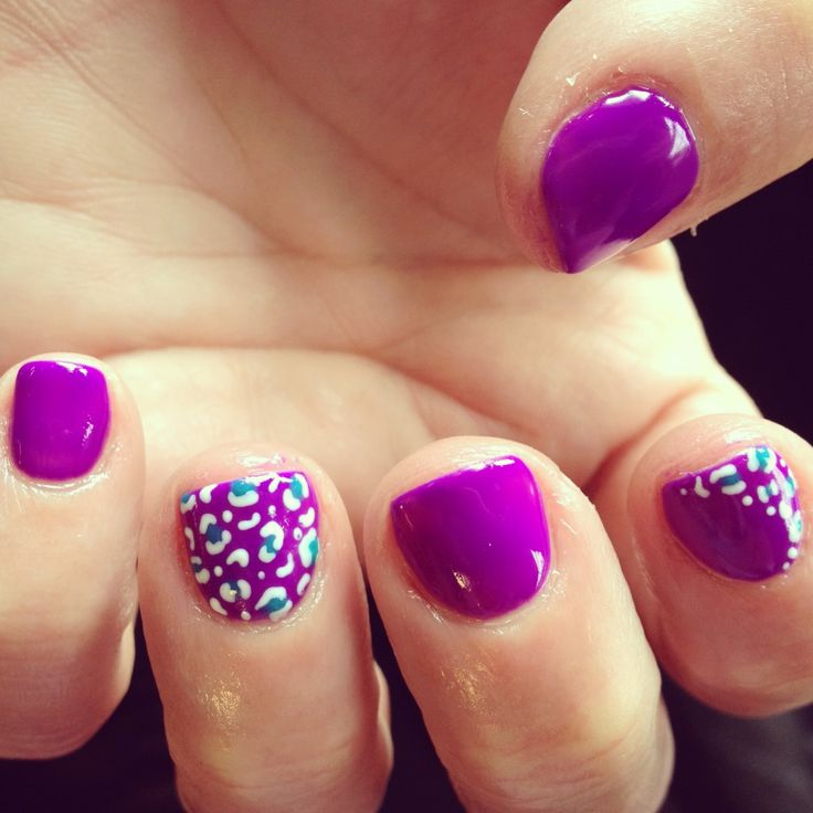 Gel Nail Design Purple: Best purple nail art designs. Best ideas ...