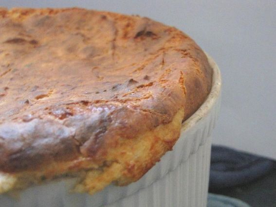 Cheesy Potato Spoon Bread Recipe | Recipes | Pinterest