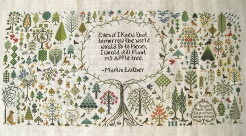 He who plants trees loves others beside himself....