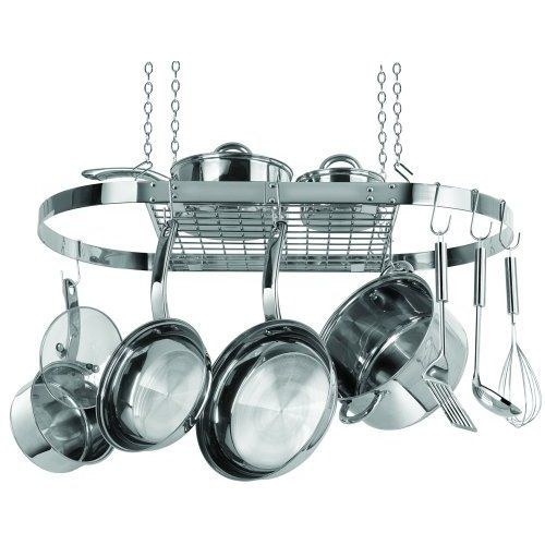 Pots and pans rack for the home pinterest Pot and pan rack