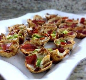 Mini Deep Dish Pizzas | Entree | Pinterest