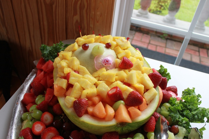 baby fruit tray for baby shower great ideas pinterest