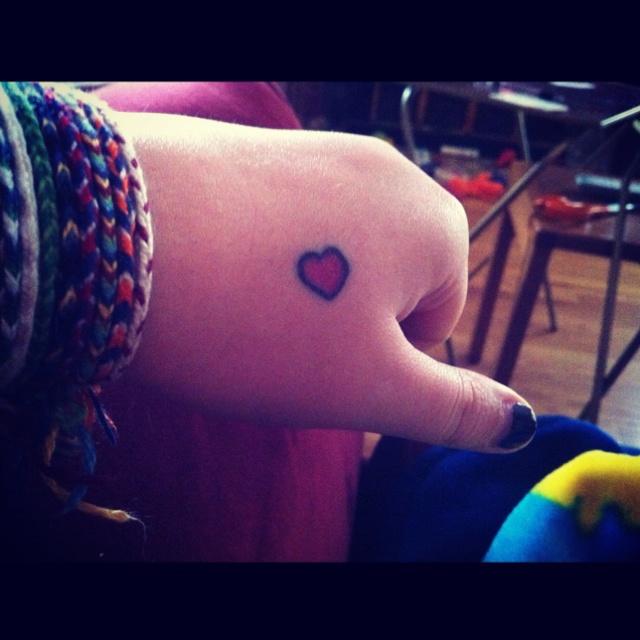 Heart mac miller tattoo when i get inkk pinterest for Mac tattoo my heart