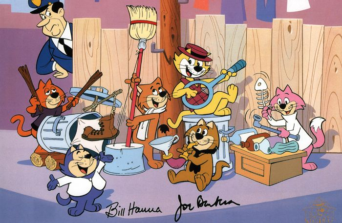 Top cat cartoon show retro tv shows pinterest - Cat cartoon shows ...