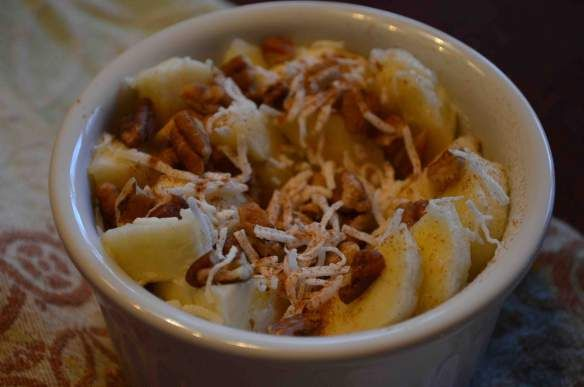 Cinnamon Banana Coconut Yogurt | Diet | Pinterest
