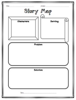 Simple story map book sequence pinterest
