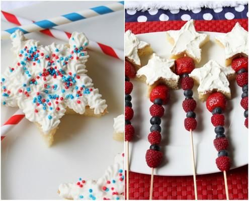 fourth of july pound cake trifle