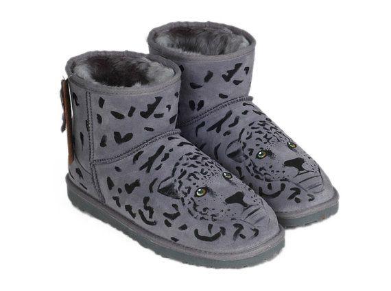 ugg coquette grey leopard