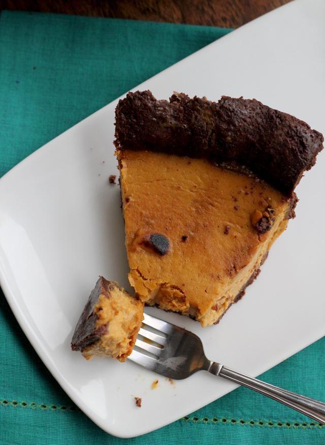 Drunken Pumpkin Bourbon Tart With Mascarpone Cream Recipe ...