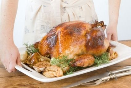 Honey and Rosemary Brined Turkey with Herb Riesling Gravy | Recipe
