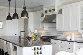 Barrie residence kitchen remodel pinterest