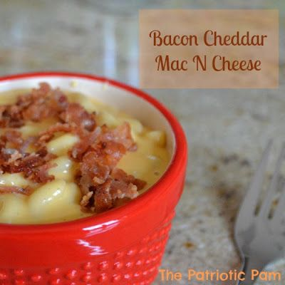 Baked White Cheddar Mac N Cheese With Kale And Bacon Recipe ...
