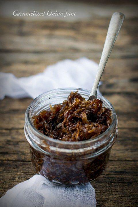 Caramelized Onion Jam | Yummy In My Tummy | Pinterest