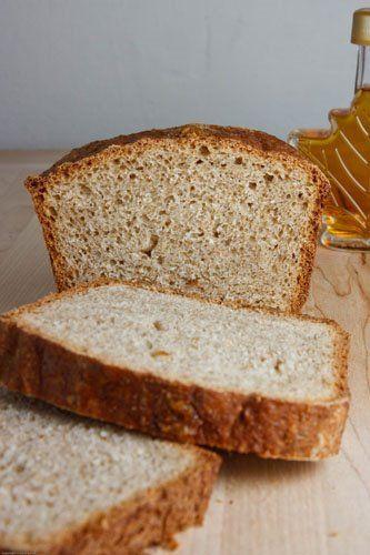 Maple Oat Bread by Closet Kitchen