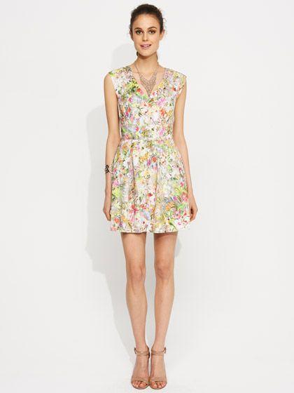 Image for Jungle Floral Dress from Portmans