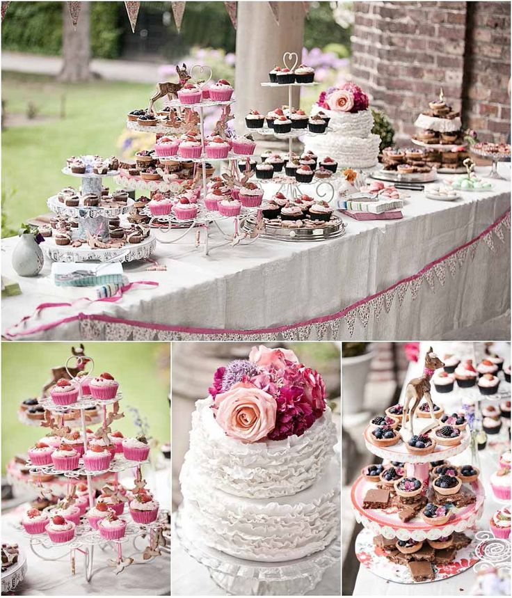 Cupcakes-Hochzeitstorte  Inspiration  Pinterest