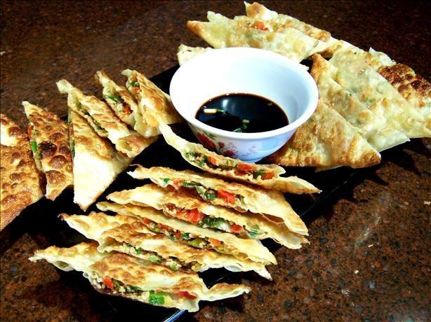 Green Onion Pancakes Recipe - Chinese.Food.com - 14530