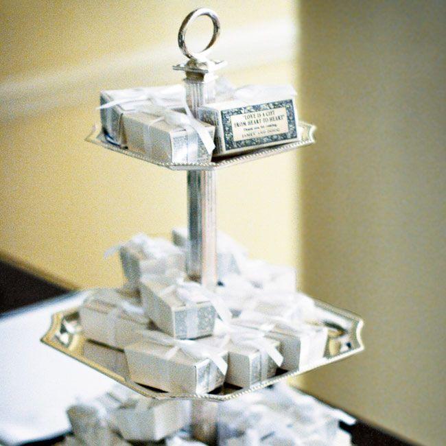 Candy wedding favors Wedding ideas Pinterest