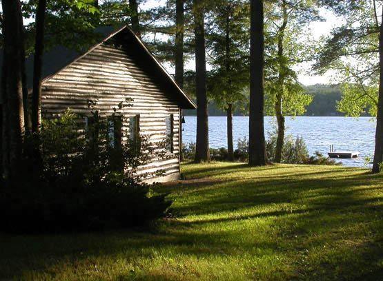 Cabin On A Lake Kayaking Pinterest