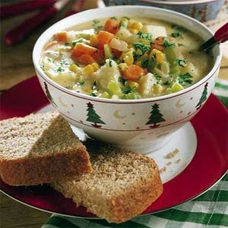 Cheesy Vegetable Chowder | chili, soups , and stews | Pinterest