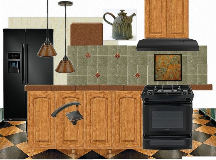 Great Ideas For Remodeling A Kitchen Around 80s Golden Oak
