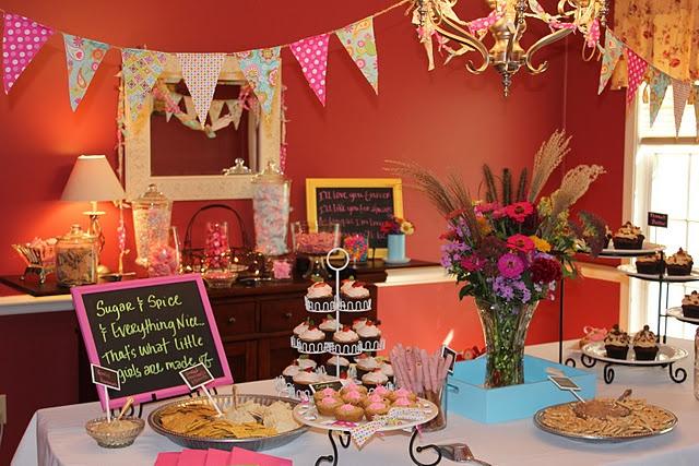 baby shower dessert buffet candy bar party ideas pinterest