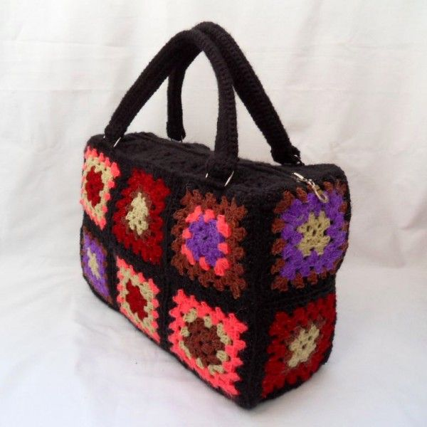 Crochet Granny Bag - Chart ? Granny Crochet!! ? Community Board ...
