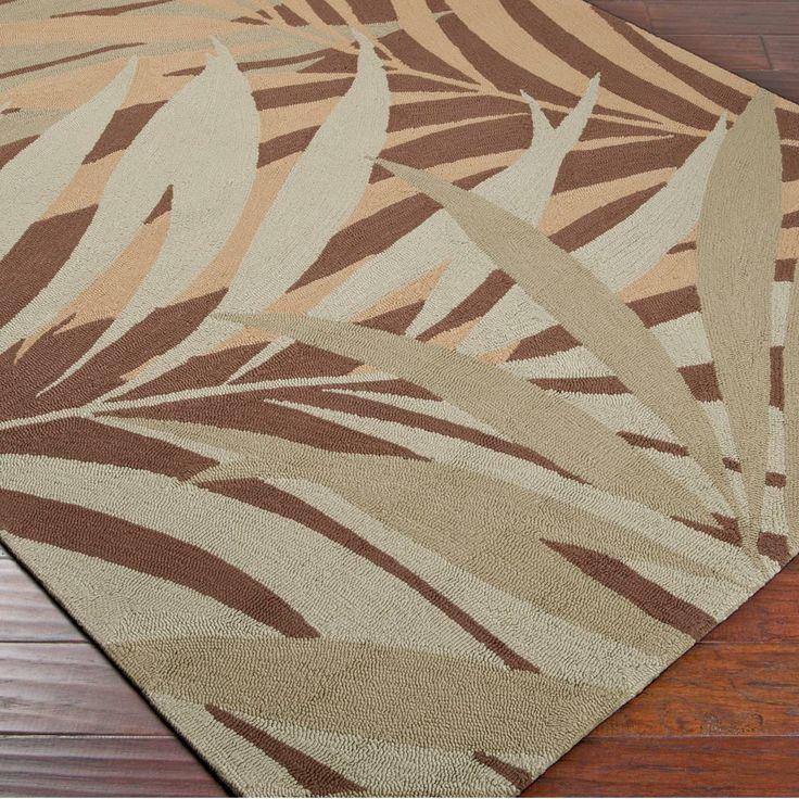 palm leaves indoor outdoor rug. Black Bedroom Furniture Sets. Home Design Ideas