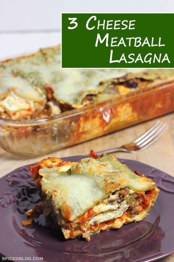 Cheese Meatball and Sausage Lasagna