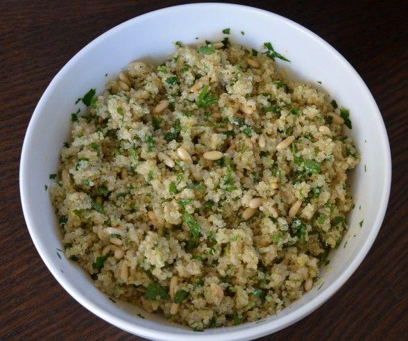Lemon and Cumin Scented Quinoa | My Recipes | Pinterest