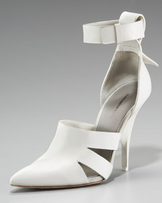 IN LOVE with Alexander Wang Joan ankle strap pump (in white) - SOLD OUT everywhere! :(