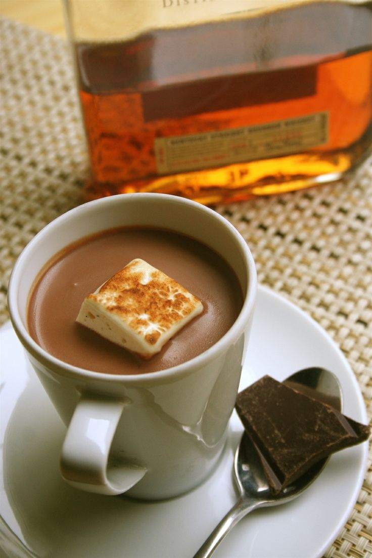 ... , use your bacon infused bourbon in this bourbon hot chocolate drink