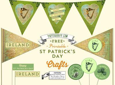 old irish flags