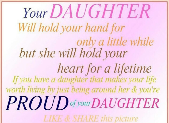 so proud of my daughter Inspiring Words & Quotes Pinterest