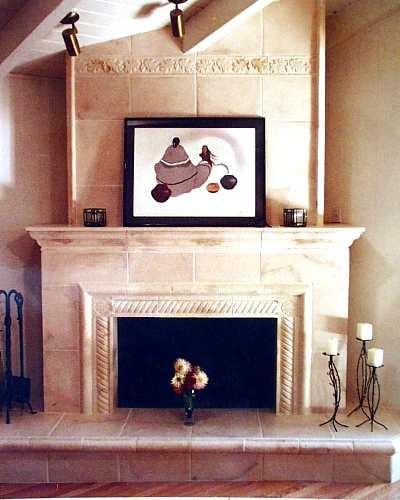 Tuscan Fireplace Decorating Ideas Pinterest