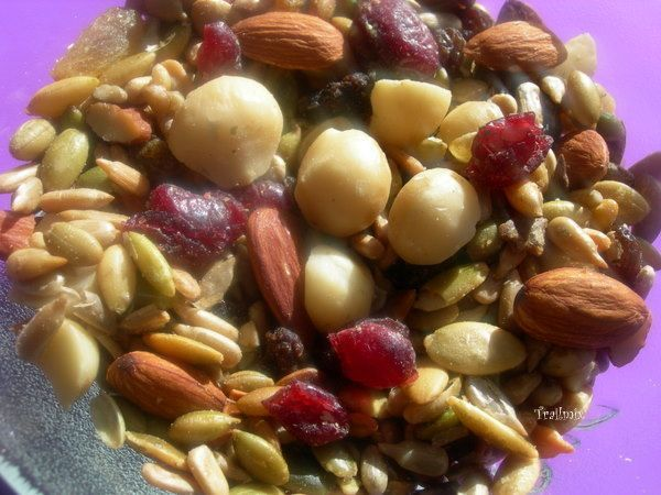 What else can be easier to make snack than a trail mix