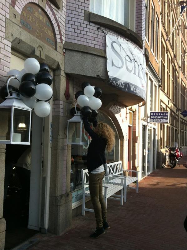 launching @ the wonderful Sense in Amsterdam!